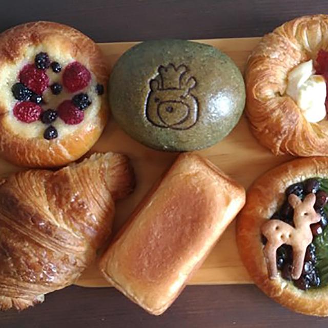 くまのパン屋ウーフ(パン、焼き菓子)