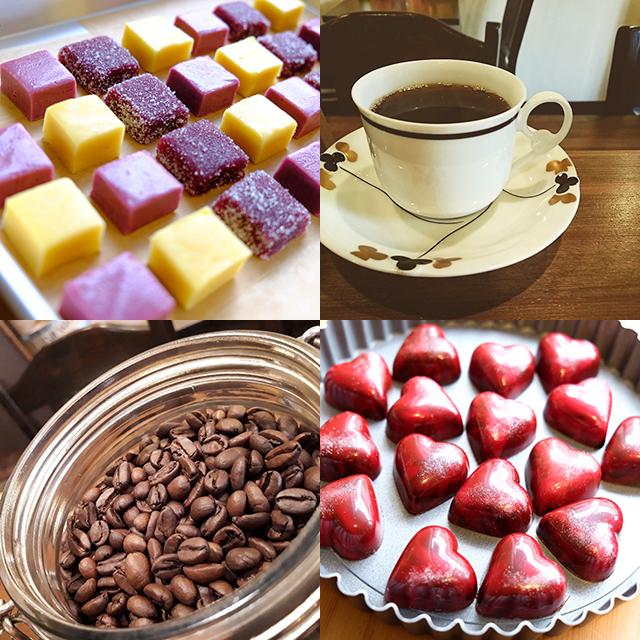 Petit Maruju[焼き菓子、ショコラ、ジャム]×喫茶イレブン[コーヒー、コーヒー豆販売]