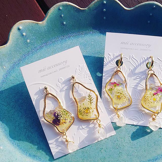 mii accessory(本物のお花でつくるボタニカルアクセサリー)