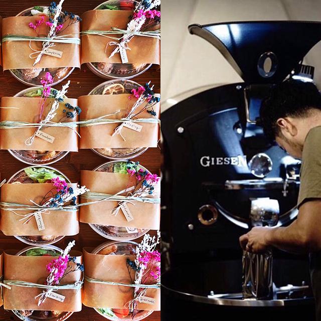 おと。 × K COFFEE(お弁当、ケーキ、コーヒー)